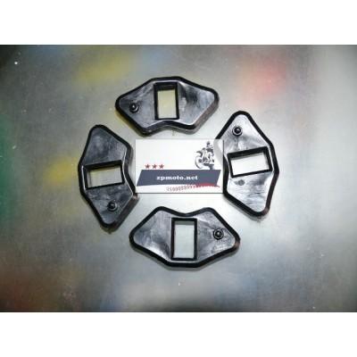 Демпферные резинки колеса звезды Delta (Дэльта) Alpha (Альфа) черные мягкие