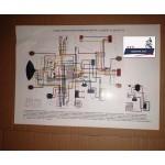 Схема электрооборудования для мотоциклов Днепр-11, Днепр-14, Днепр-16, Урал ИМЗ 8.1037