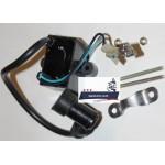 Катушка зажигания высоковольтная (электронное зажигание CDI)  Китайский Дырчик (Веломотор) F50 F80