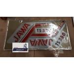 Наклейки JAWA 350 634 638 под оригинал (золотой блистер), комплект
