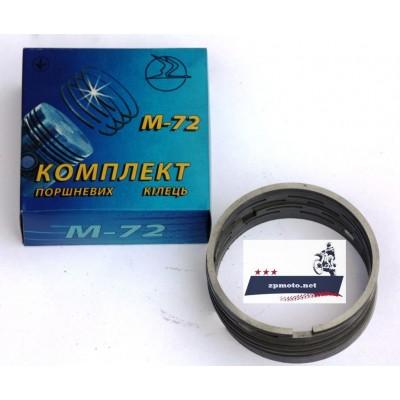 Кольца (8 шт.) К-750 (Касик), М-72, компрессор Прибалтийский (0 - 78.0), (1 ремонт 78.2), (2 ремонт 78.5), (3 ремонт 79.0) (7201217-01)