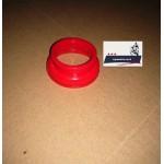 Патрубок воздушного фильтра - карбюратора Минск (красный силиконовый)