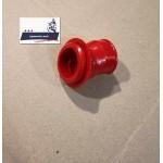 Патрубок воздушного фильтра - карбюратора JAWA 638 12 В (красный силиконовый)