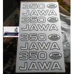 Наклейки JAWA 350 634 638 под оригинал (белый блистер), комплект