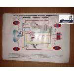 Схема электрооборудования для мопедов Верховирна-7, Карпаты-2, Дэльта, Стелла, Рига-7, Рига-12, МП-046, Верховина-3, 4. 5. 6, Автоматик