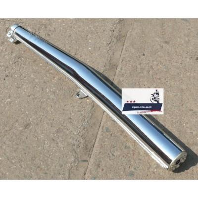 Глушитель труба выхлопная ИЖ Планета 5 (с хомутом) (Хороший Китай)