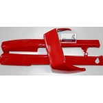 Пластик сиденья JAWA Ява 350 638 12 В пенал (темно красный)