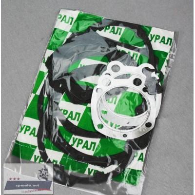 Набор прокладок, прокладки всего двигателя Урал (тексон с алюминием)