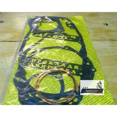 Набор прокладок, прокладки всего двигателя Днепр (Мт) (паронит с медью)