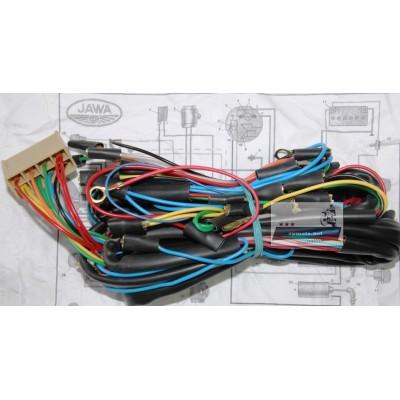 Проводка JAWA Ява 350 634 6 В (П) сечение провода 0.5 мм