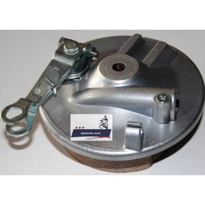 Ступица тормозная Delta (Дэльта) Alpha (Альфа) передняя в сборе Крышка переднего тормозного барабана с колодками