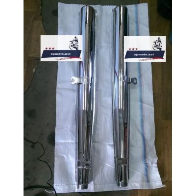 Глушители трубы выхлопные ИЖ Юпитер 4, 5 пара (Хороший Китай)
