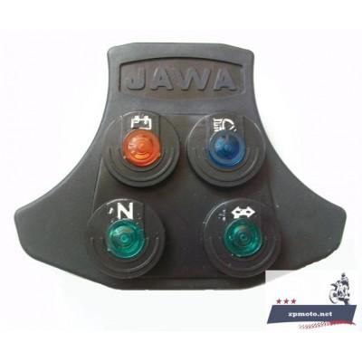 Щиток панель приборов JAWA Ява 350 634 638 6 В 12 В